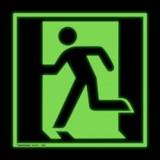 Notausgang links | Fluchwegzeichen B2B Schilder