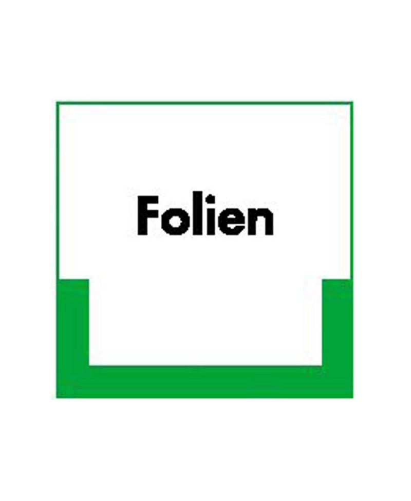Folien |Umweltzeichen 2B Schilder