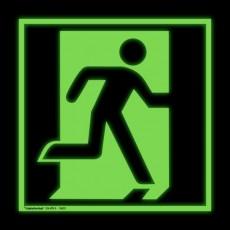Notausgang rechts   Fluchwegzeichen B2B Schilder