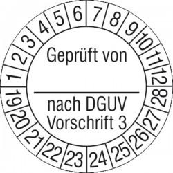 Prüfplakette Geprüft von_...