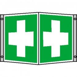 Winkelschild Erste Hilfe |Erste Hilfe 2B Schilder