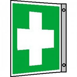 Fahnenschild Erste Hilfe |Erste Hilfe 2B Schilder