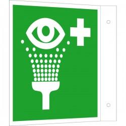 Fahnenschild Augenspüleinrichtung |Erste Hilfe 2B Schilder