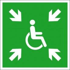 Vorläufige Evakuierungsstelle | Fluchwegzeichen B2B Schilder