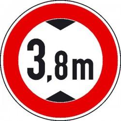 Verbot für Fahrzeuge über...