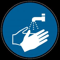 Hände waschen |Gebotszeichen B2B Schilder