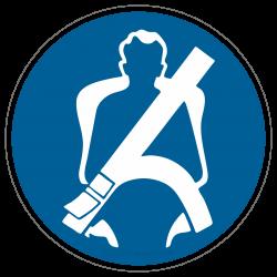 Sicherheitsgurt anlegen |Gebotszeichen B2B Schilder