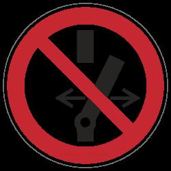 Schalten verboten | Verbotszeichen B2B Schilder