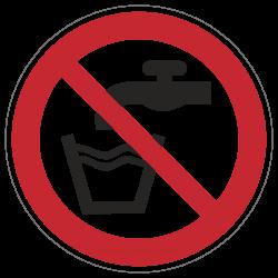 Kein Trinkwasser | Verbotszeichen B2B Schilder