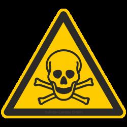 Warnung vor giftigen Stoffen |Warnzeichen 2B Schilder