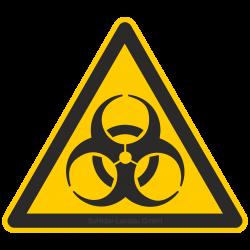 Warnung vor Biogefährdung |Warnzeichen 2B Schilder