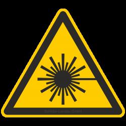 Warnung vor Laserstrahl |Warnzeichen 2B Schilder
