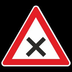 Kreuzung StVO Zeichen Nr. 102
