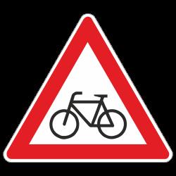 Radfahrer kreuzen StVO...
