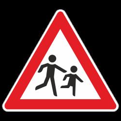 Kinder - Aufstellung links...