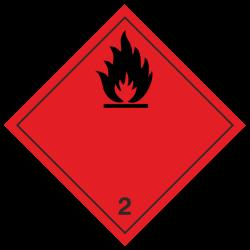 Klasse 2.1 Entzündbare Gase