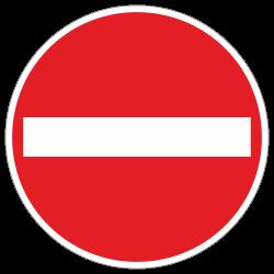 Verbot der Einfahrt StVO...