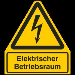 Elektrischer Betriebsraum |Elektrozeichen B2B Schilder