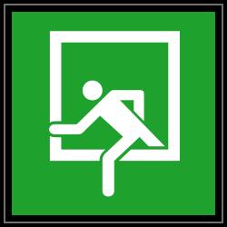 Notausstieg | Fluchwegzeichen B2B Schilder