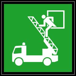 Rettungsausstieg | Fluchwegzeichen B2B Schilder