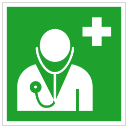 Arzt |Erste Hilfe 2B Schilder