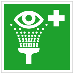 Augenspüleinrichtung |Erste Hilfe 2B Schilder