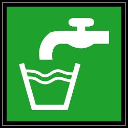 Trinkwasser | Fluchwegzeichen B2B Schilder