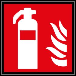 Feuerlöscher | Brandschutzschild B2B Schilder
