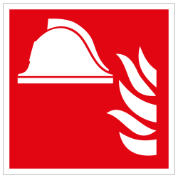Mittel und Geräte zur Brandbekämpfung | Brandschutzschild B2B Schilder