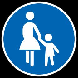 Sonderweg Fußgänger StVO...