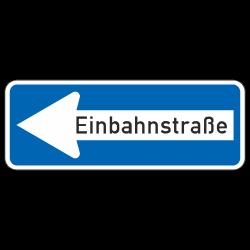 Einbahnstraße links StVO...