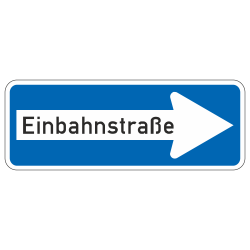 Einbahnstraße rechts StVO...