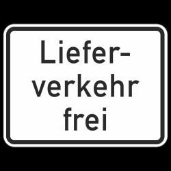 Lieferverkehr frei StVO...