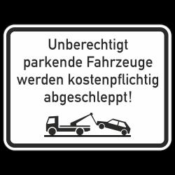 Unberechtigt parkende...
