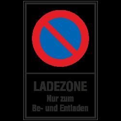 Ladezone Nur zum Be- und...