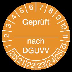Prüfplakette Geprüft _ nach...