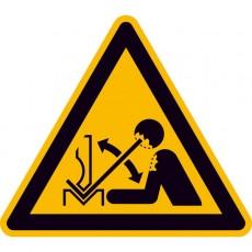 Warnung vor hochschnellendem Werkstück in einer Presse |Warnzeichen 2B Schilder
