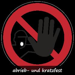 Zutritt für Unbefugte verboten   Protect   Verbotszeichen B2B Schilder