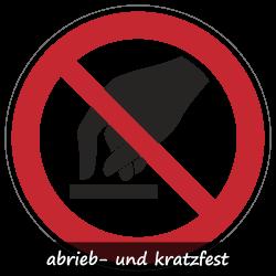 Berühren verboten   Protect   Verbotszeichen B2B Schilder