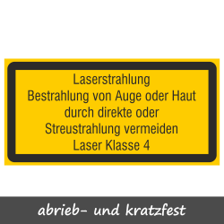 Laserstrahlung Laser Klasse...