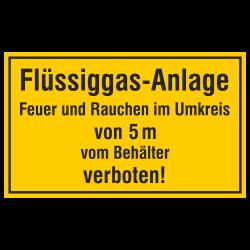 Flüssiggas-Anlage Feuer und...