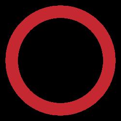 Schutt abladen verboten (rund)