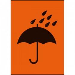 Symbol Vor Nässe schützen,...