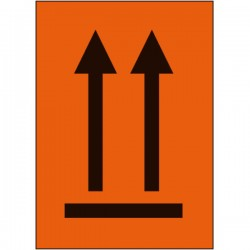 Symbol Packstück oben,...