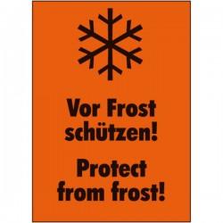 Vor Frost schützen! Protect...
