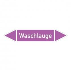 Waschlauge: Pfeilschild mittel Gruppe 7 violett / weiß | b2b-schilder.de
