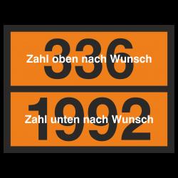 UN Tafel mit Kemmler Zahl...