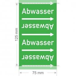 Abwasser Rohrleitungsband Gruppe 1 | Typ ST - 75mm breit