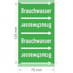 Brauchwasser Rohrleitungsband Gruppe 1 | Typ ST - 75mm breit