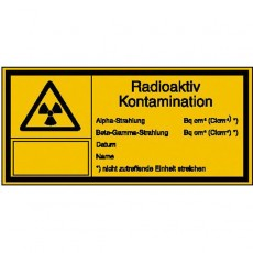 Radioaktiv Kontamination